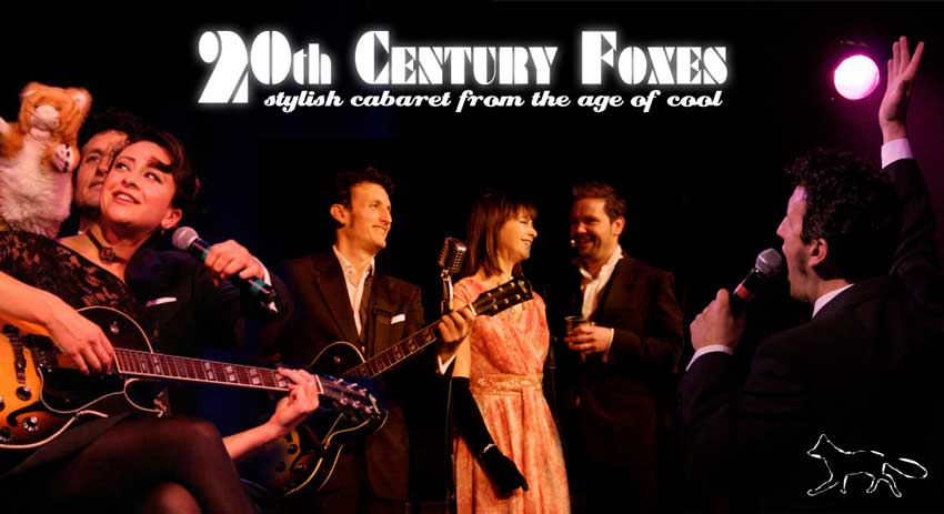 20th Century Foxes live music cabaret show - Bath, UK