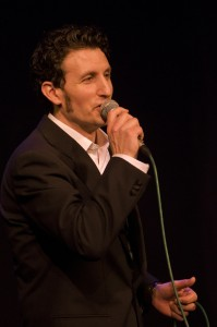 UK Jazz singer Gavin Lazarus
