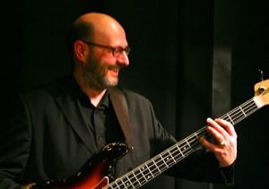 Duncan Kingston on bass