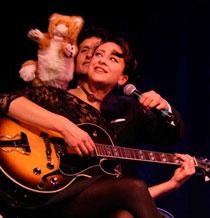 Foxes vintage cabaret Bath UK