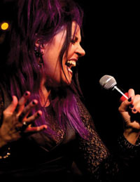 Singer vocalist Tanya Rich